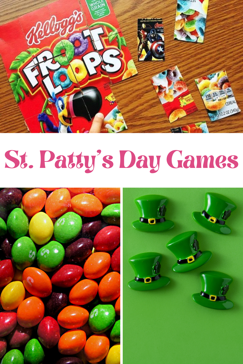 Easy st. pattys day minute to win it game ideas