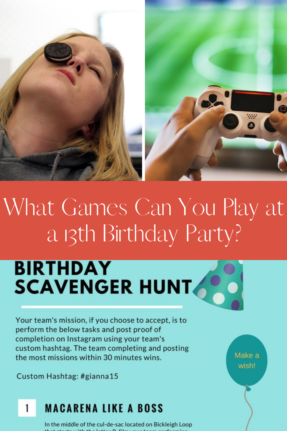 Teen Party Ideas - What can you play at 13th birthday party?