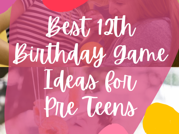 12th Birthday Game Ideas