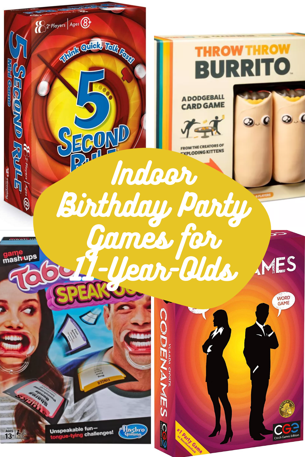 Indoor Board Game Ideas For 11th Birthday