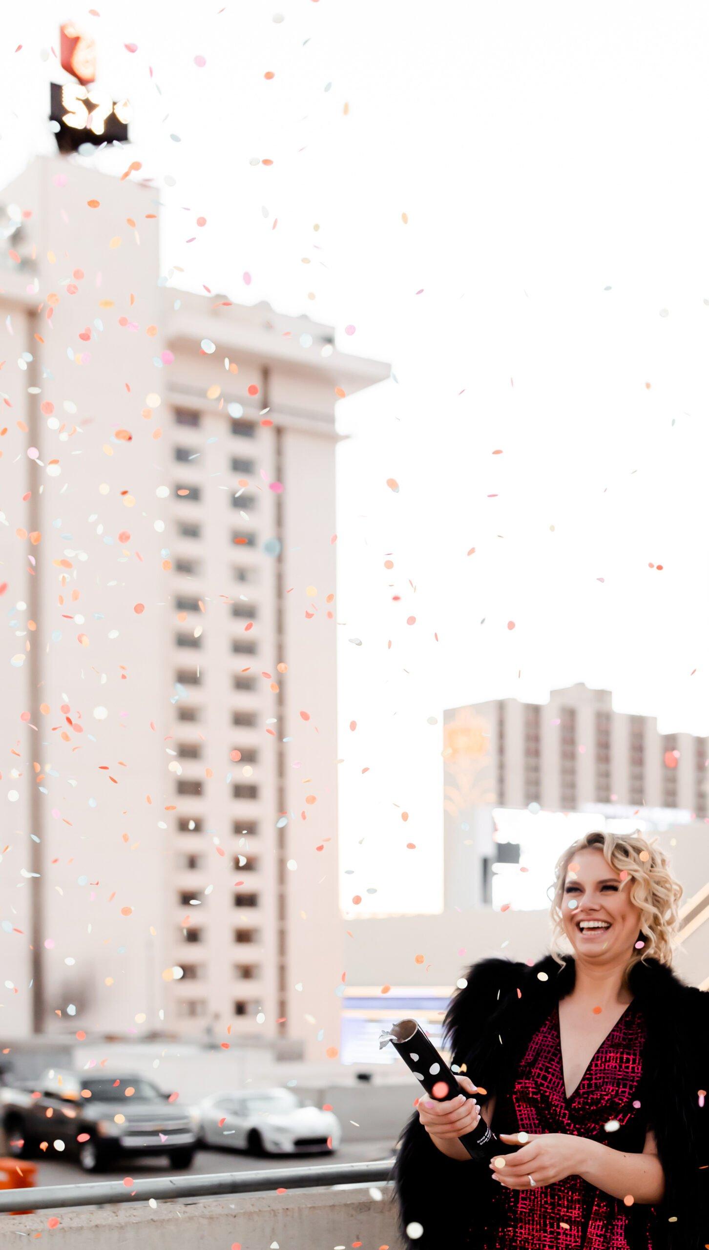 Confetti Cannon Wedding Send Off Ideas