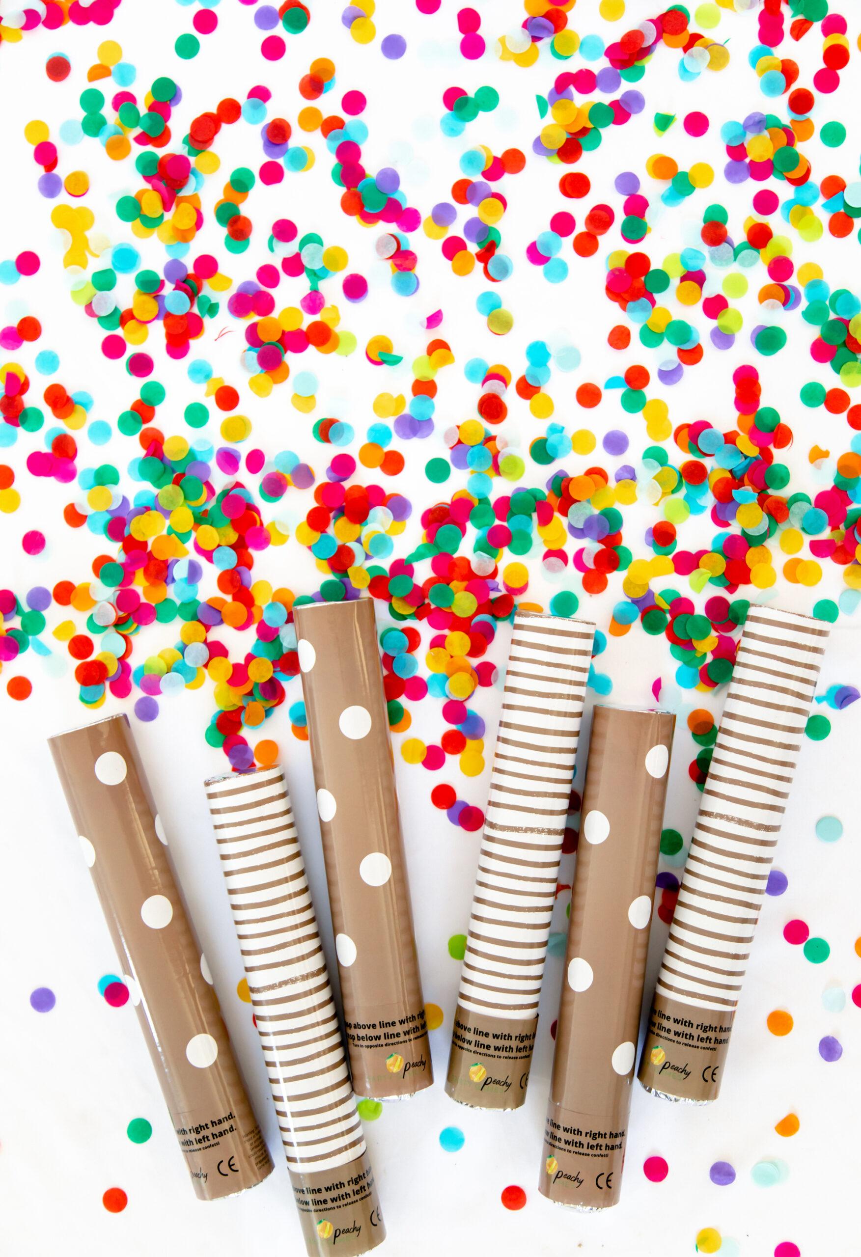 Confetti Cannons Bulk For Wedding Favors Send Off
