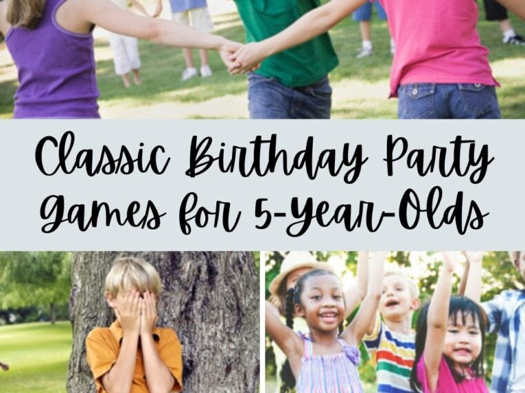 Birthday Party Games for 5 Year Olds