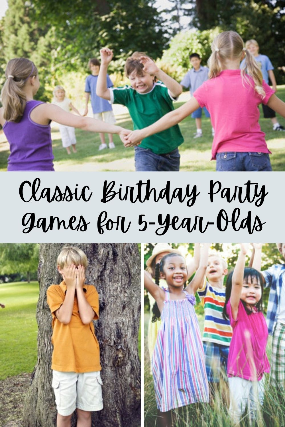 Classic Party Games for 5 Year Olds