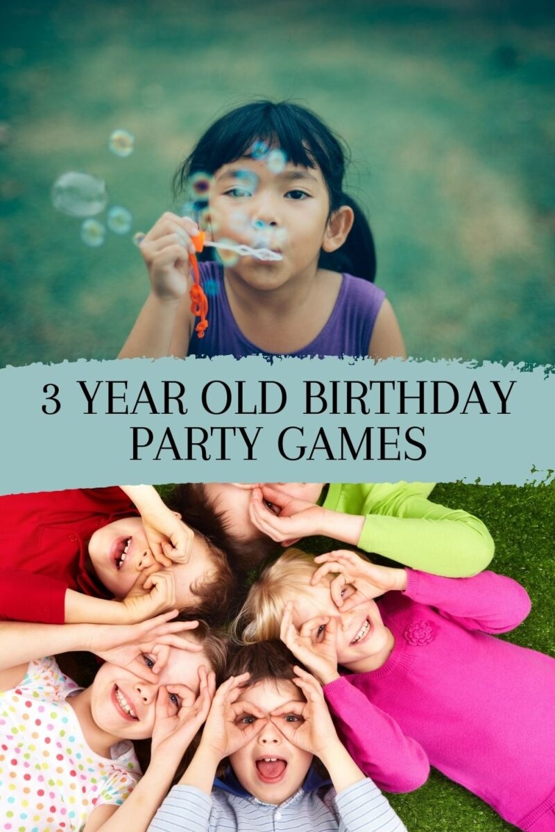 Birthday Party Games For Turning Three