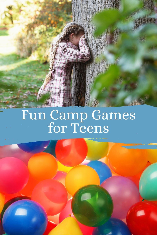 Creative & Fun Camp Games for Teens