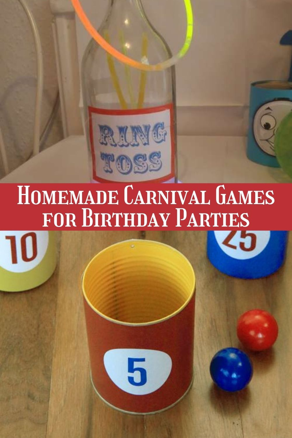 homemade carnival games for birthday parties