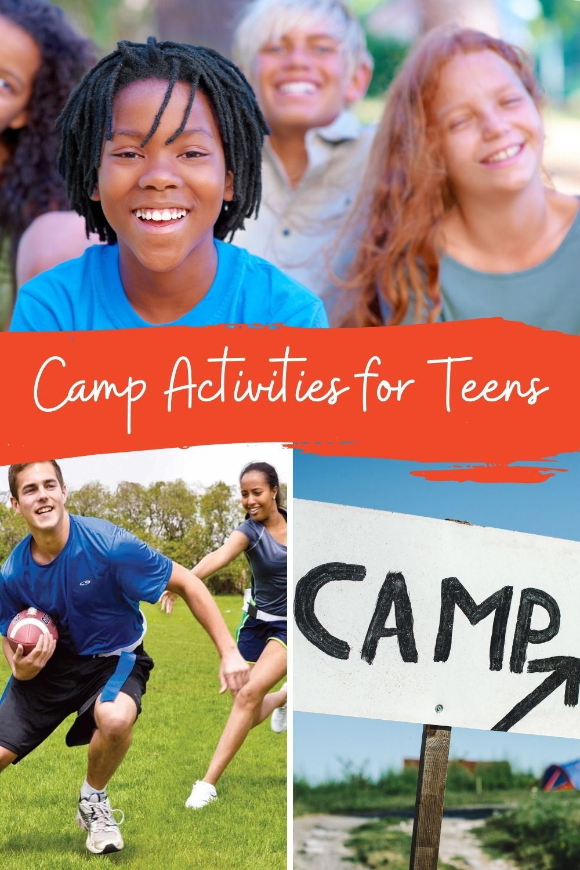 Camp Activities For Teens