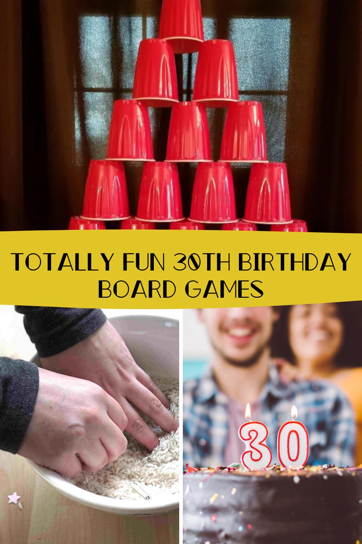 30th Birthday Board Games