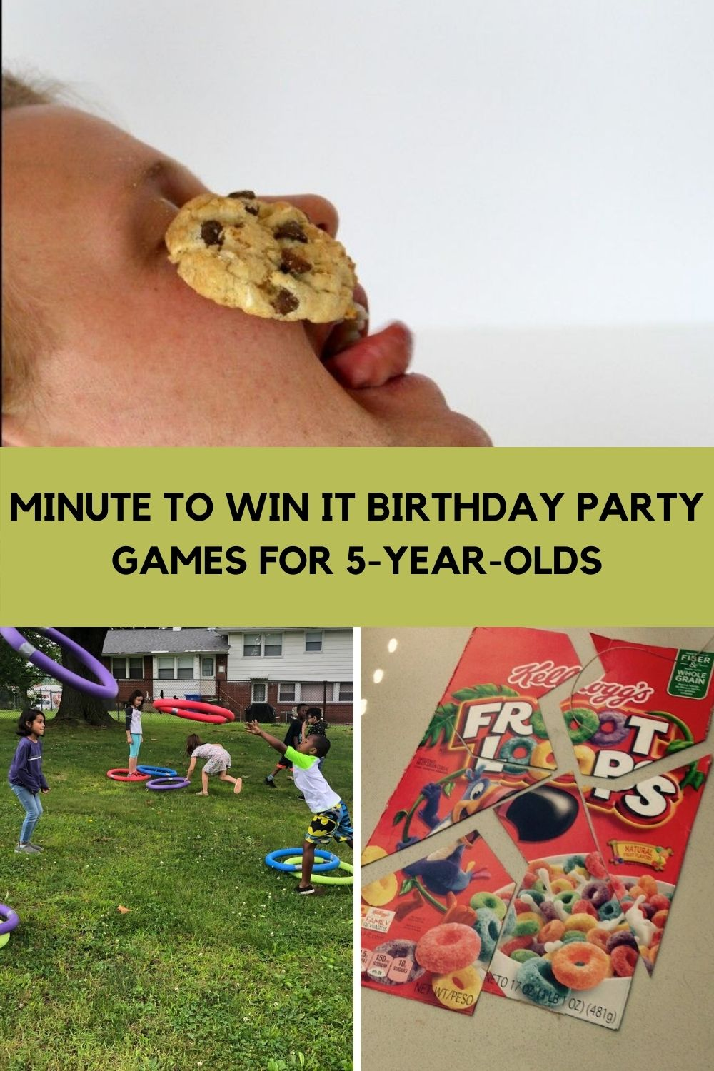 Minute To Win It Games for 5 Year Olds Birthdays