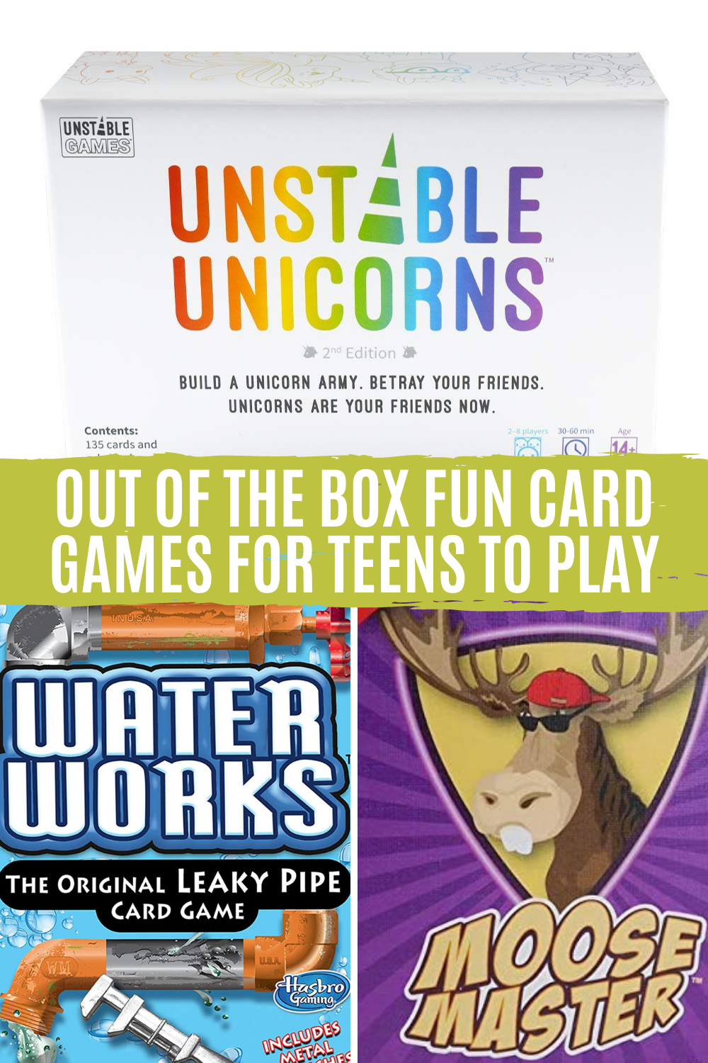 Creative Card Games for Teens