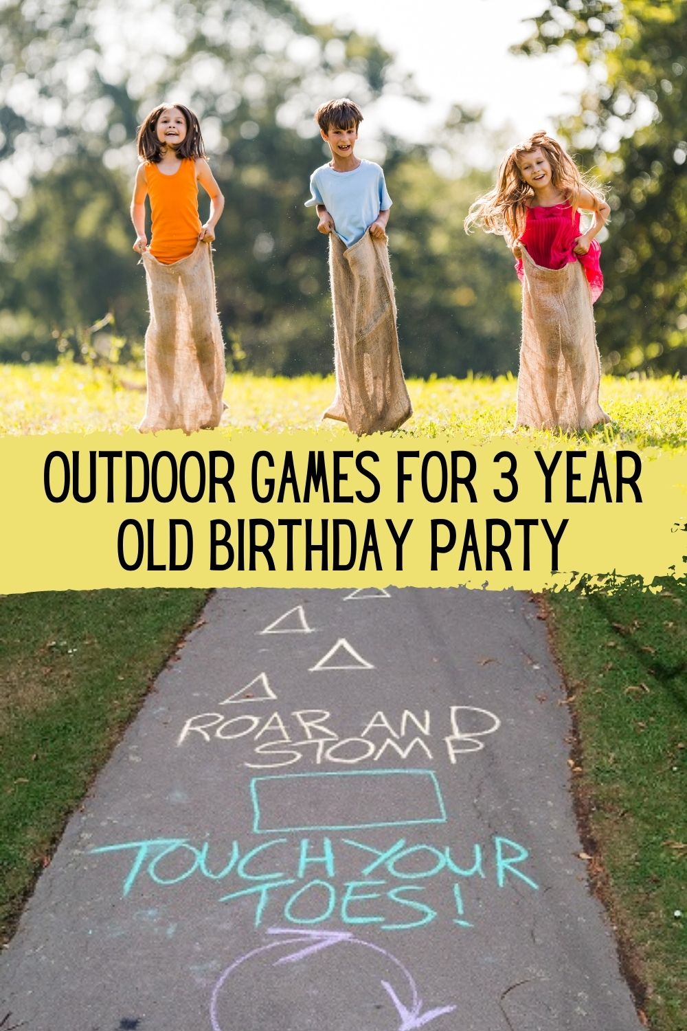 3 Year Old Outdoor Birthday Party Games