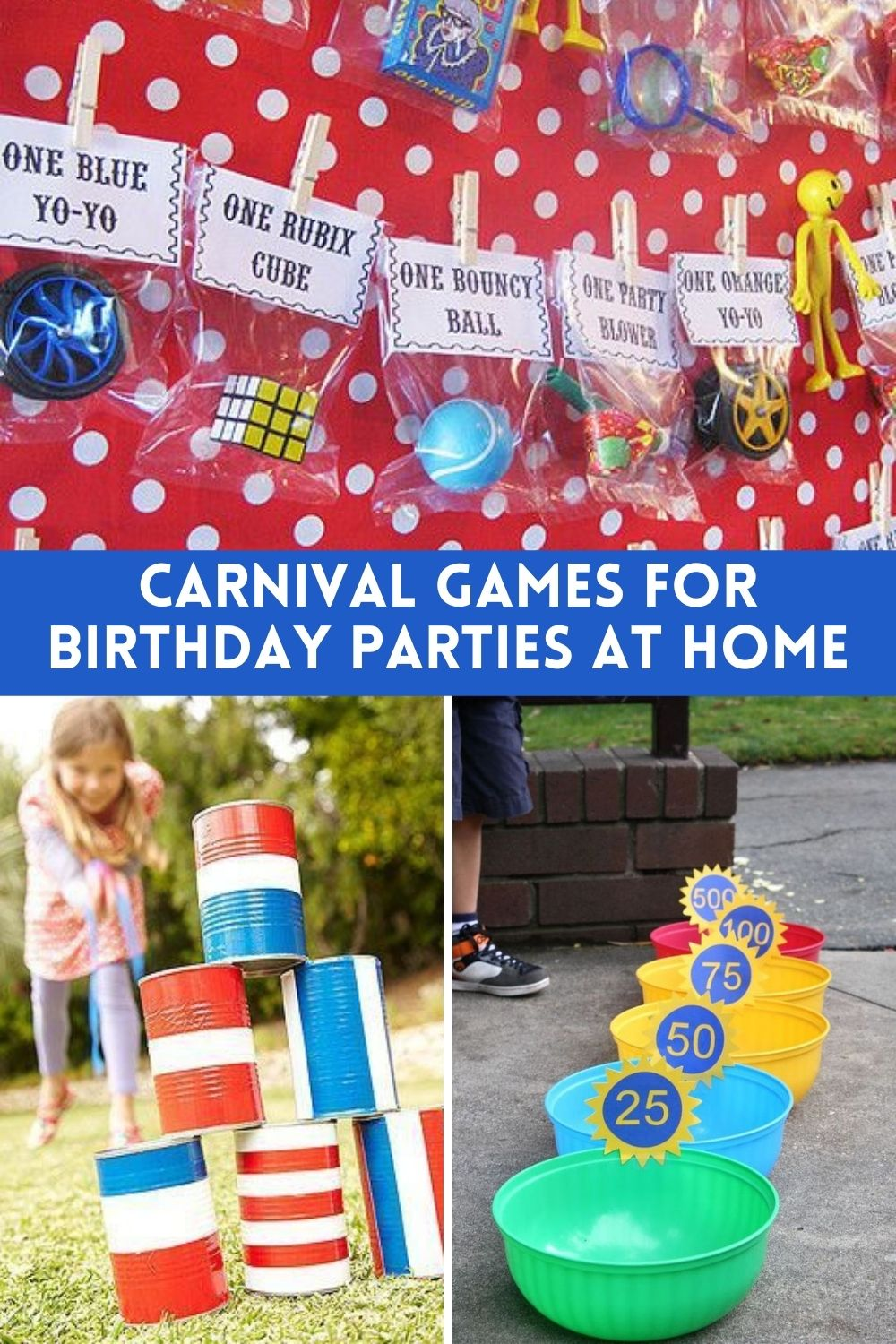 Carnival Birthday Party Games At Home Ideas