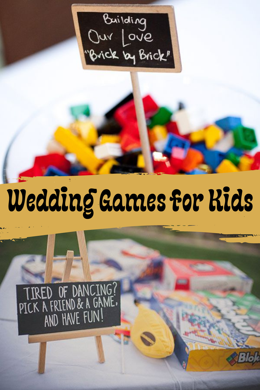 Wedding Games for Kids