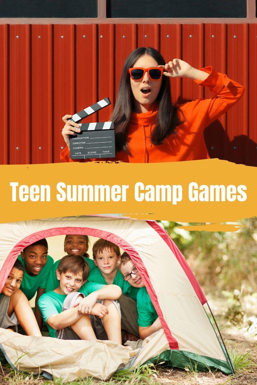 Teens Summer Camp Games & Activities