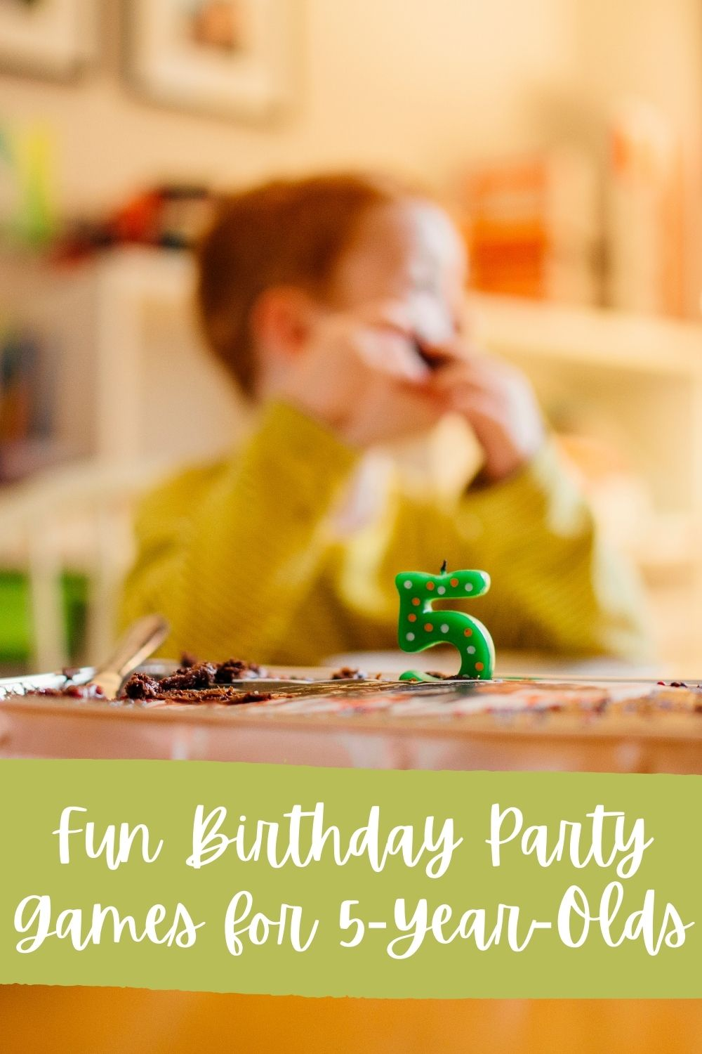 Fun Birthday Party Games for 5 Year Olds