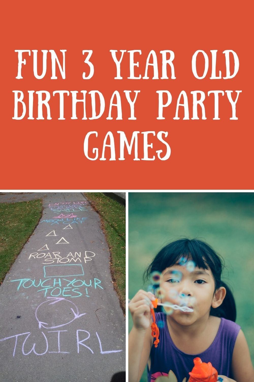 3 Year Old Birthday Party Games