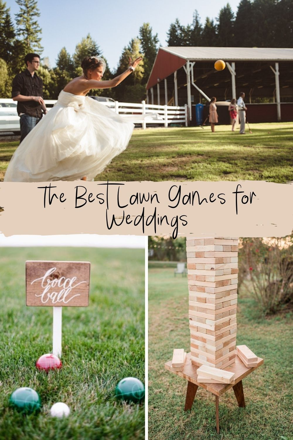 Best Lawn Games For Weddings