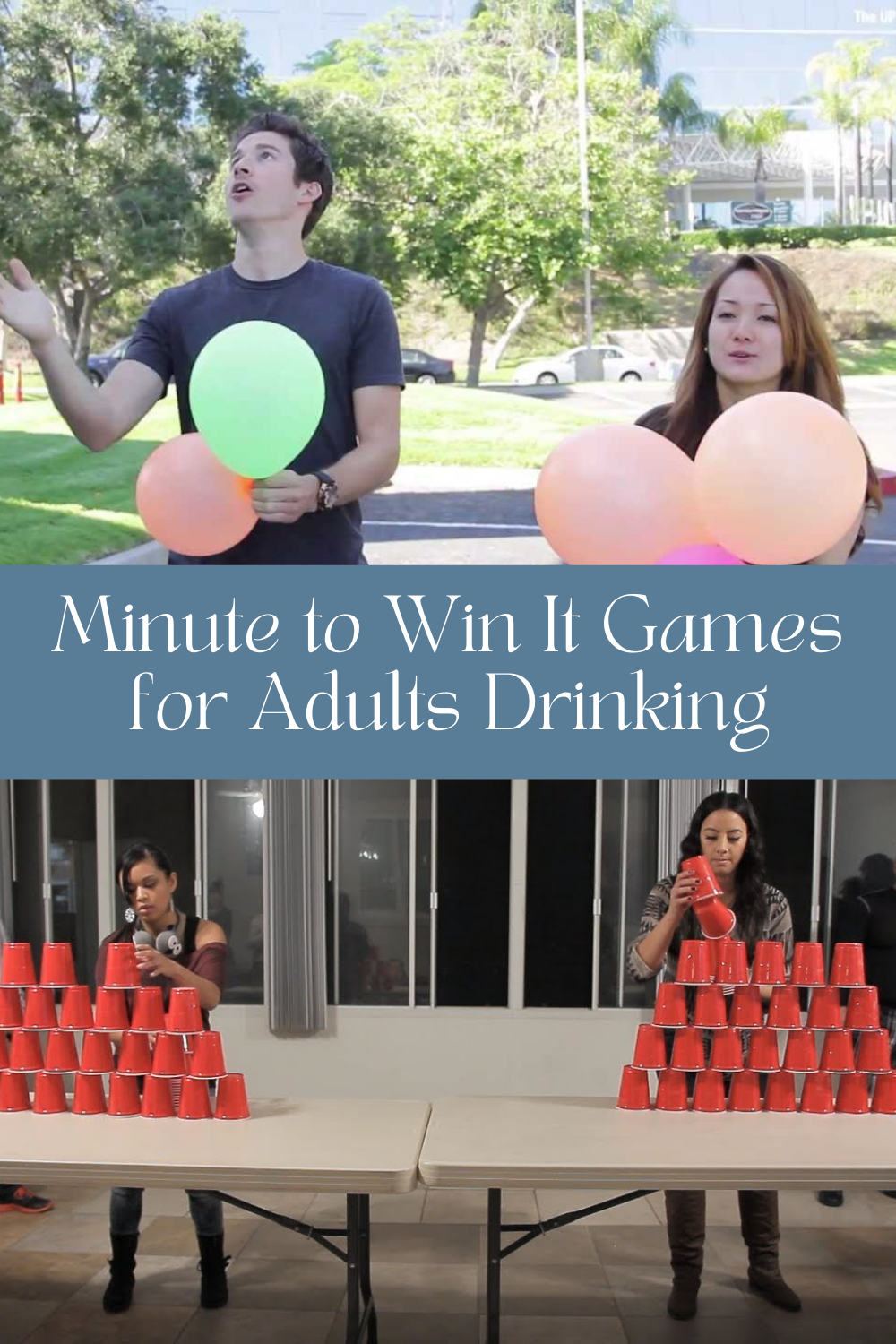 Easy Drinking Minute to Win It Games for Adults