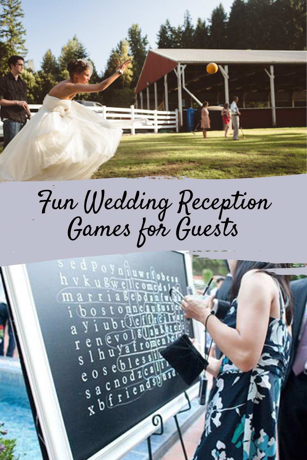 Fun Wedding Reception Games for Guests
