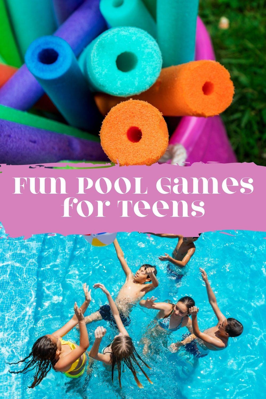 Fun Pool Games for Teens & Tweens