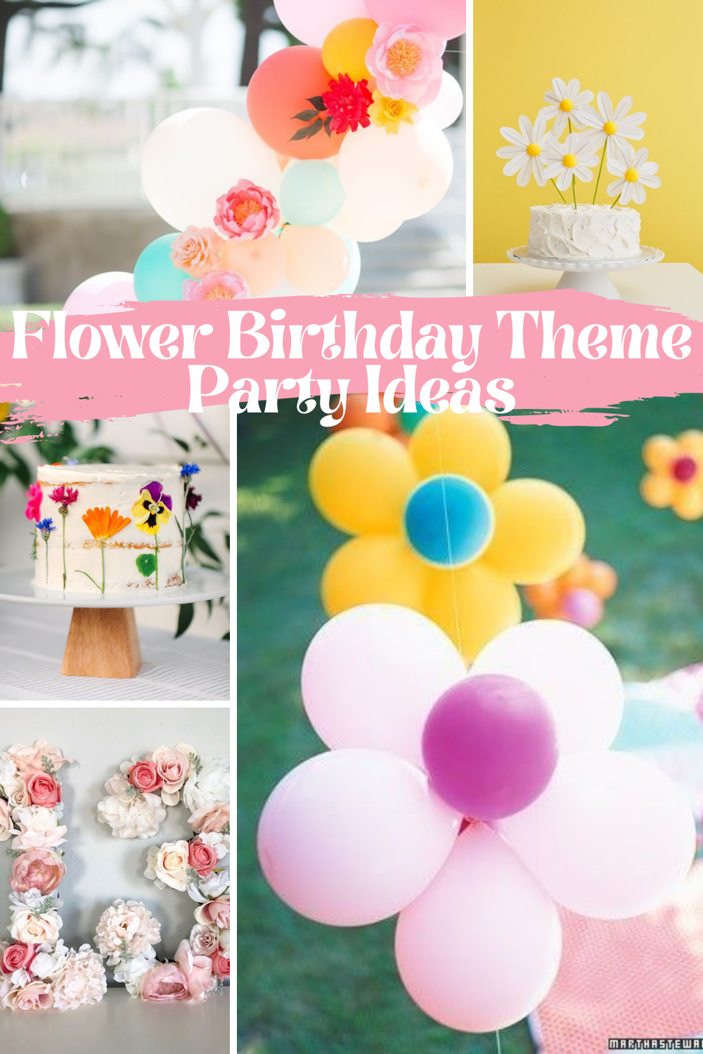 Flower Theme Party Inspiration