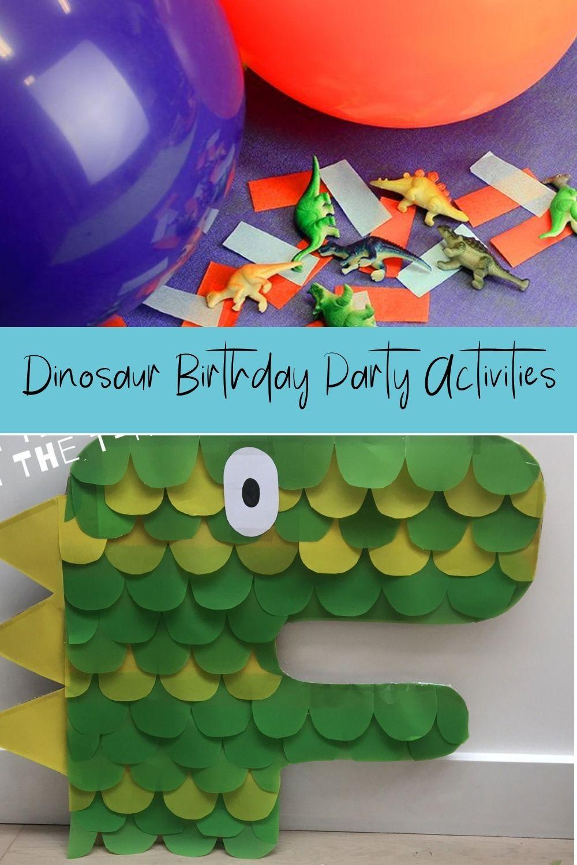 Dinosaur Birthday Party Activities