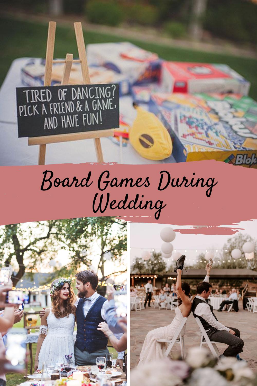 Board Game Ideas For Weddings