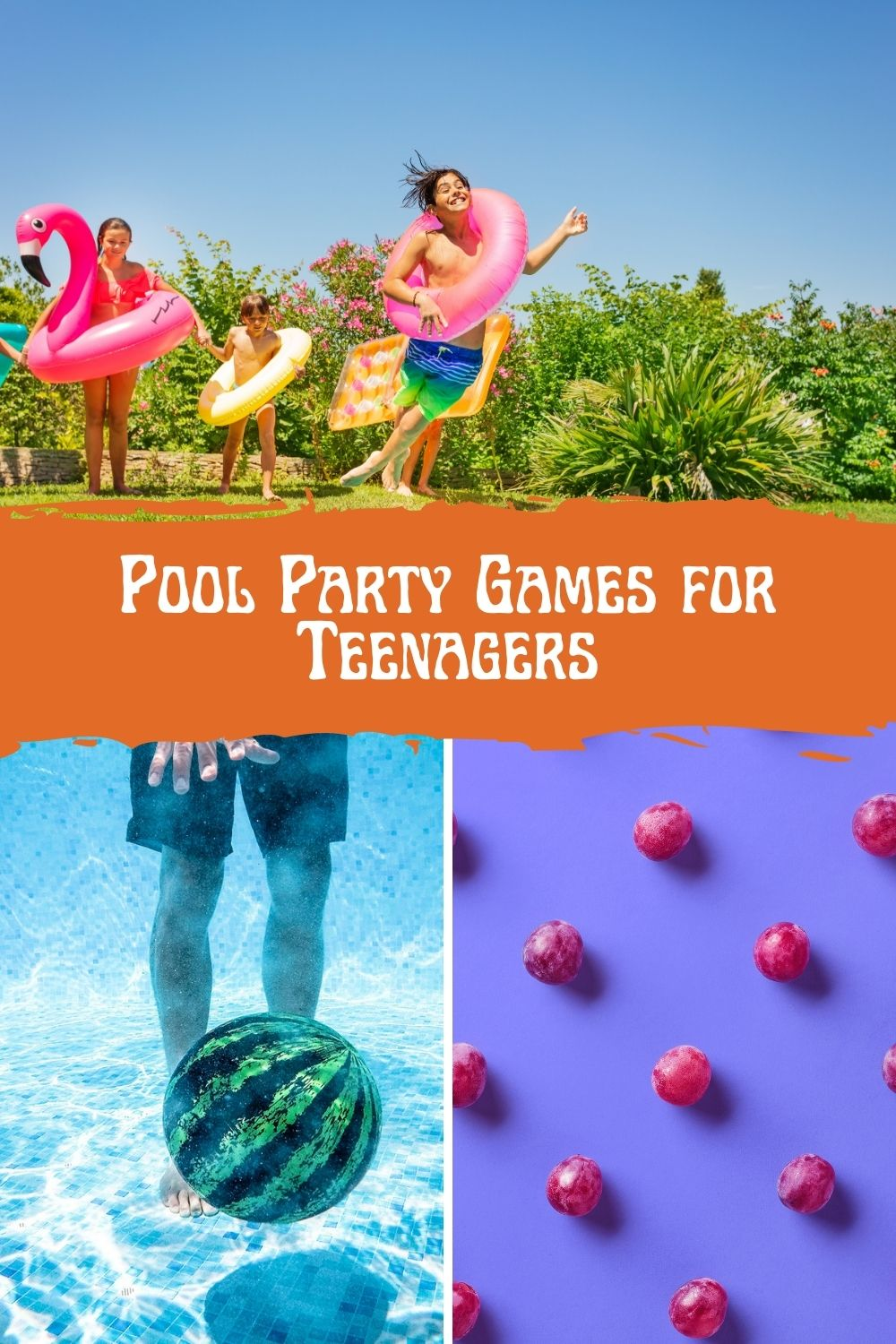 Pool Party Games for Teens