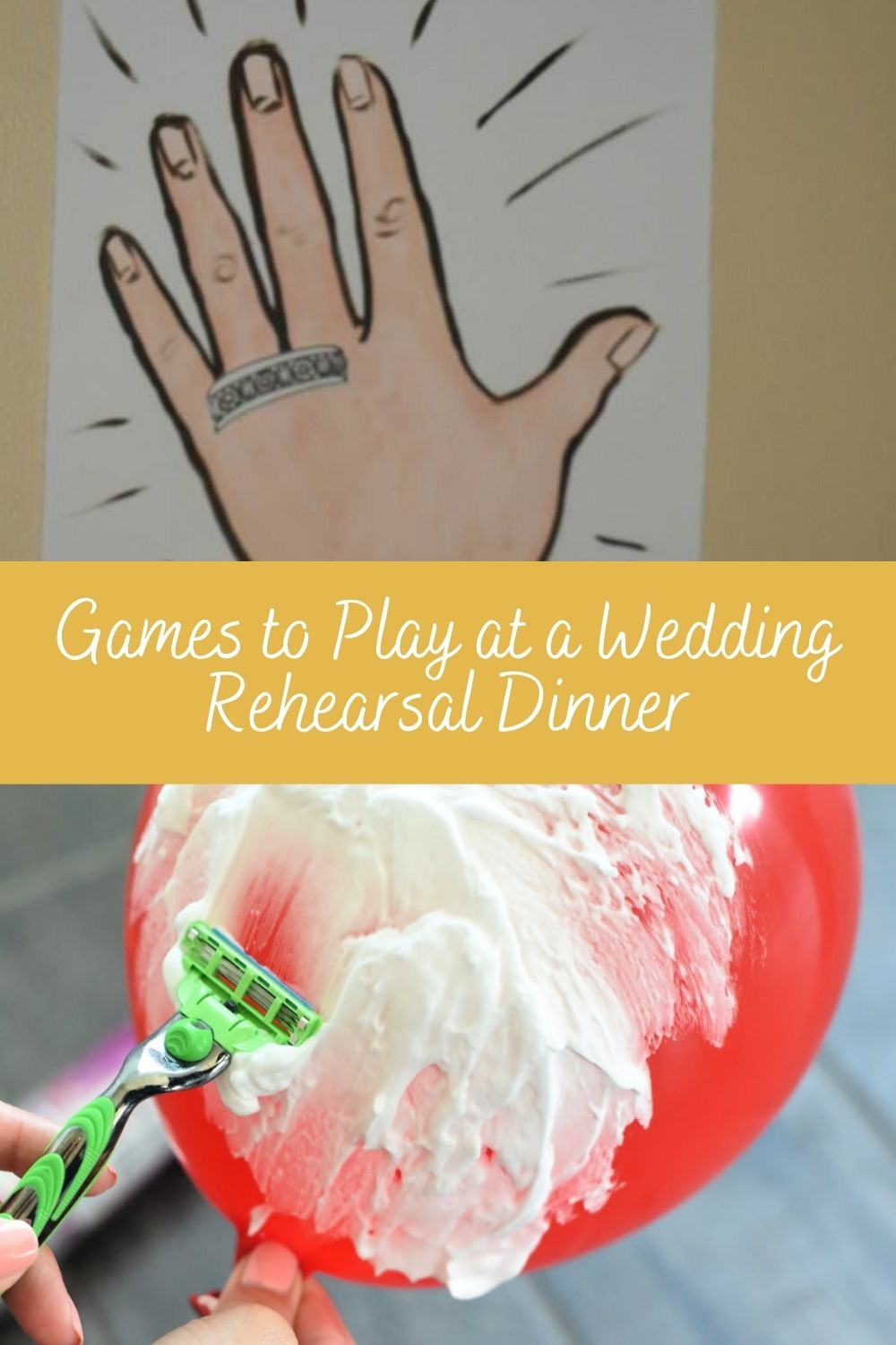 Games to Play at a Wedding Rehearsal Dinner