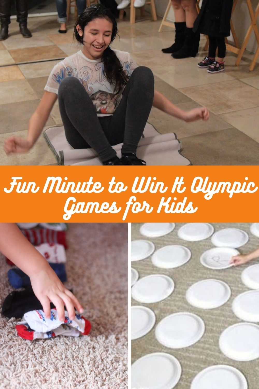 Fun Olympic Games for Kids Minute To Win It