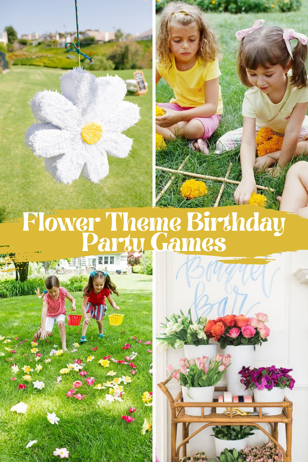 Flower Party Games For Kids