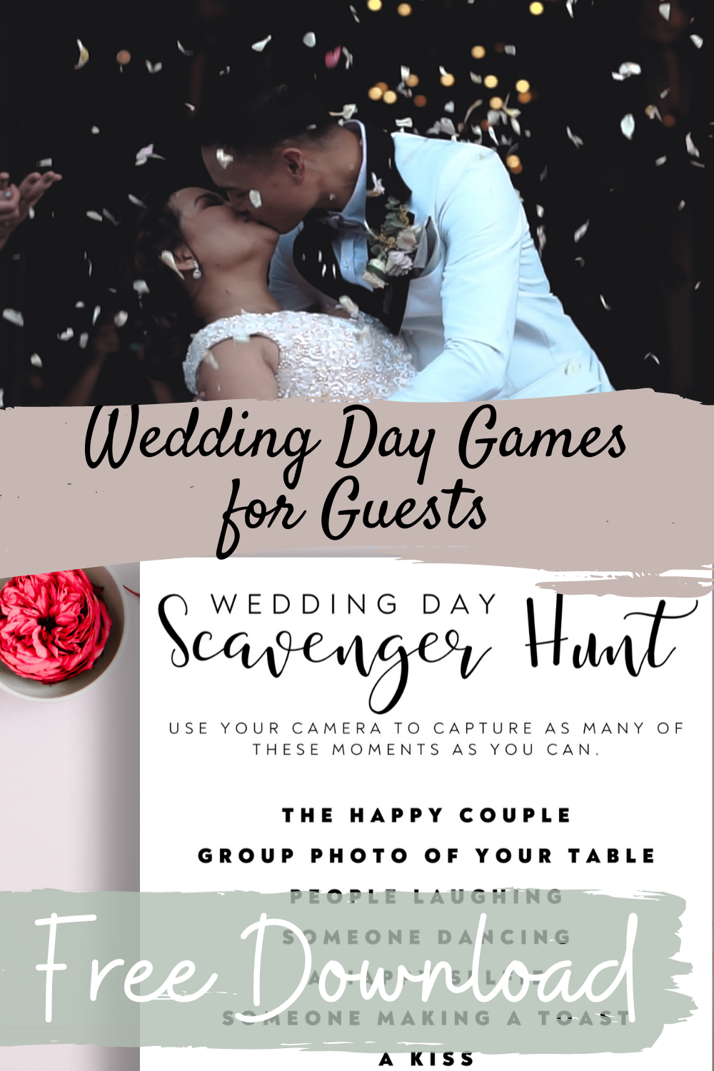 Wedding Day Games for Guests