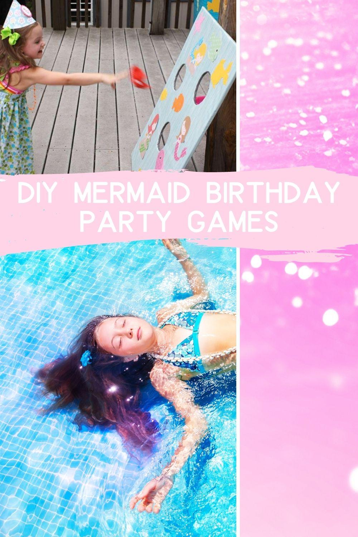 DIY Game Ideas For Mermaid Birthdays