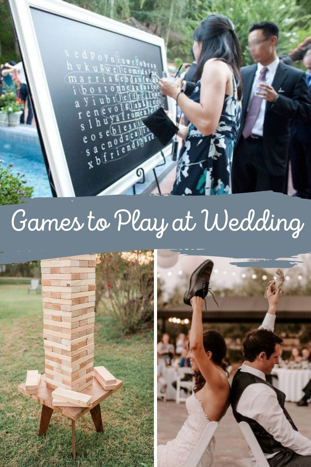 Reception Game Ideas For Wedding Party