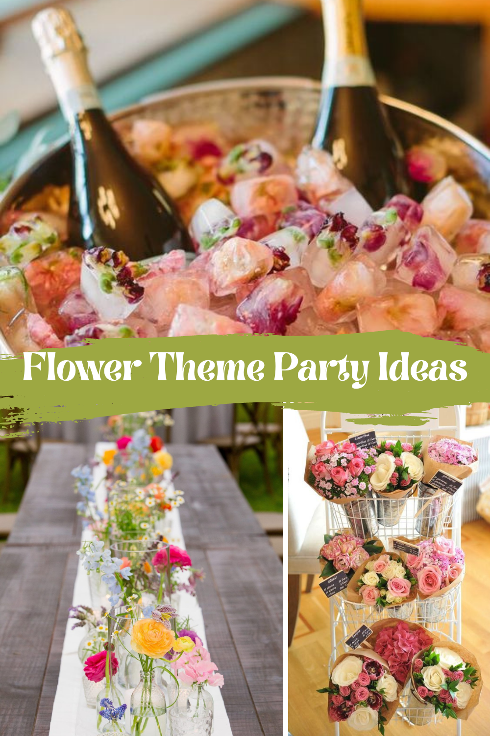 How To Throw A Flower Theme Party