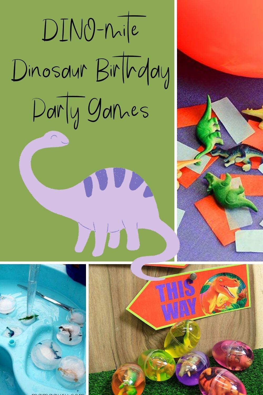 Dinosaur Birthday Party Games