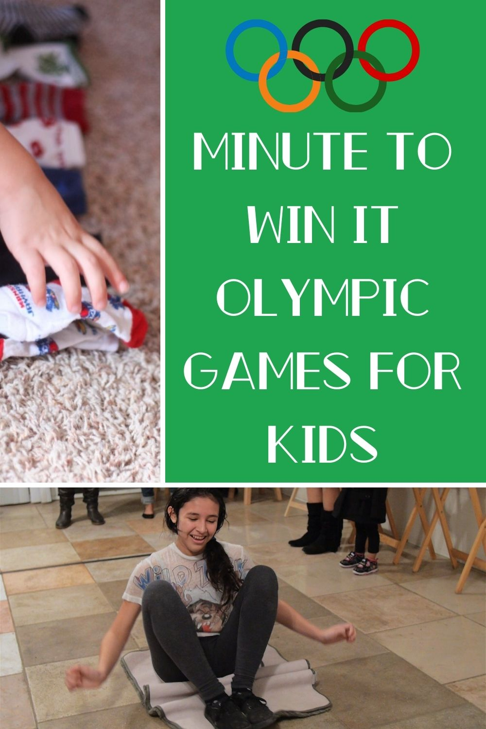 Minute to Win It Olympic Games for Kids