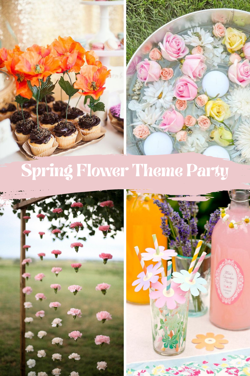 Floral Spring Party Ideas