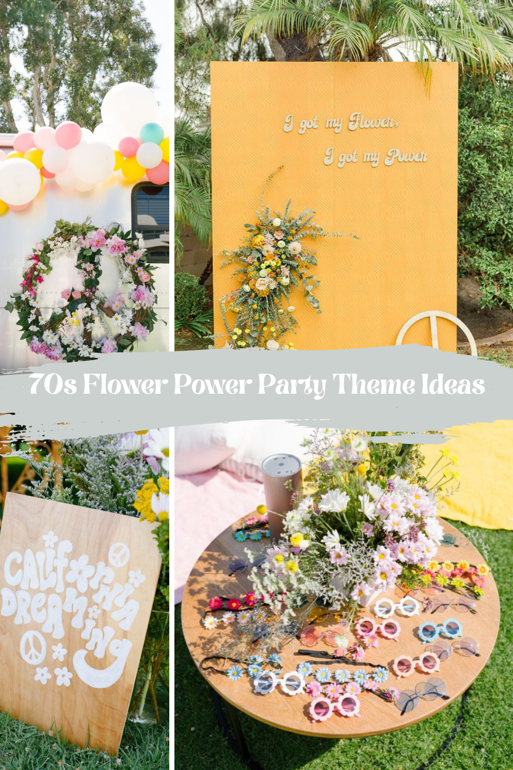 70s Flower Power Party
