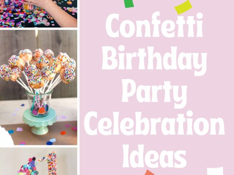 Confetti Birthday Party