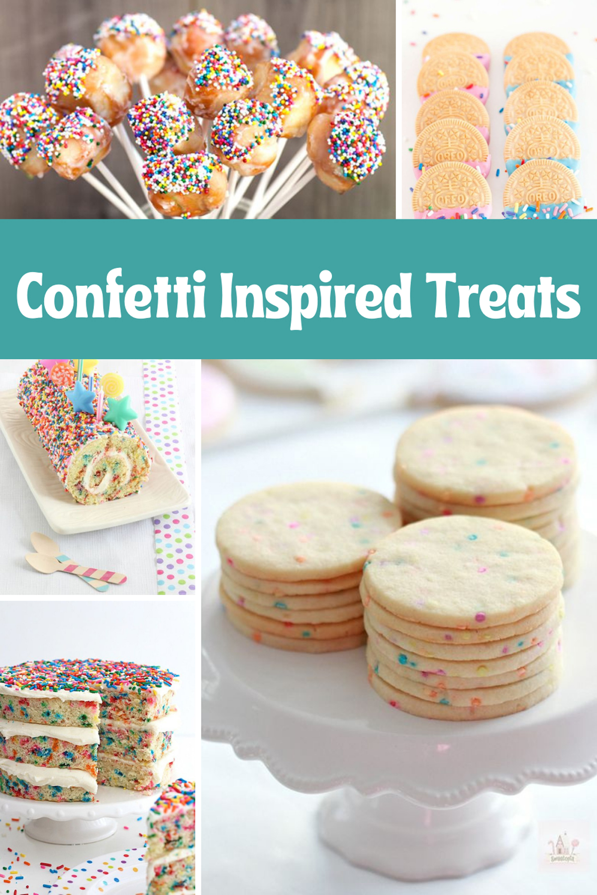 Confetti treats for Birthday Party