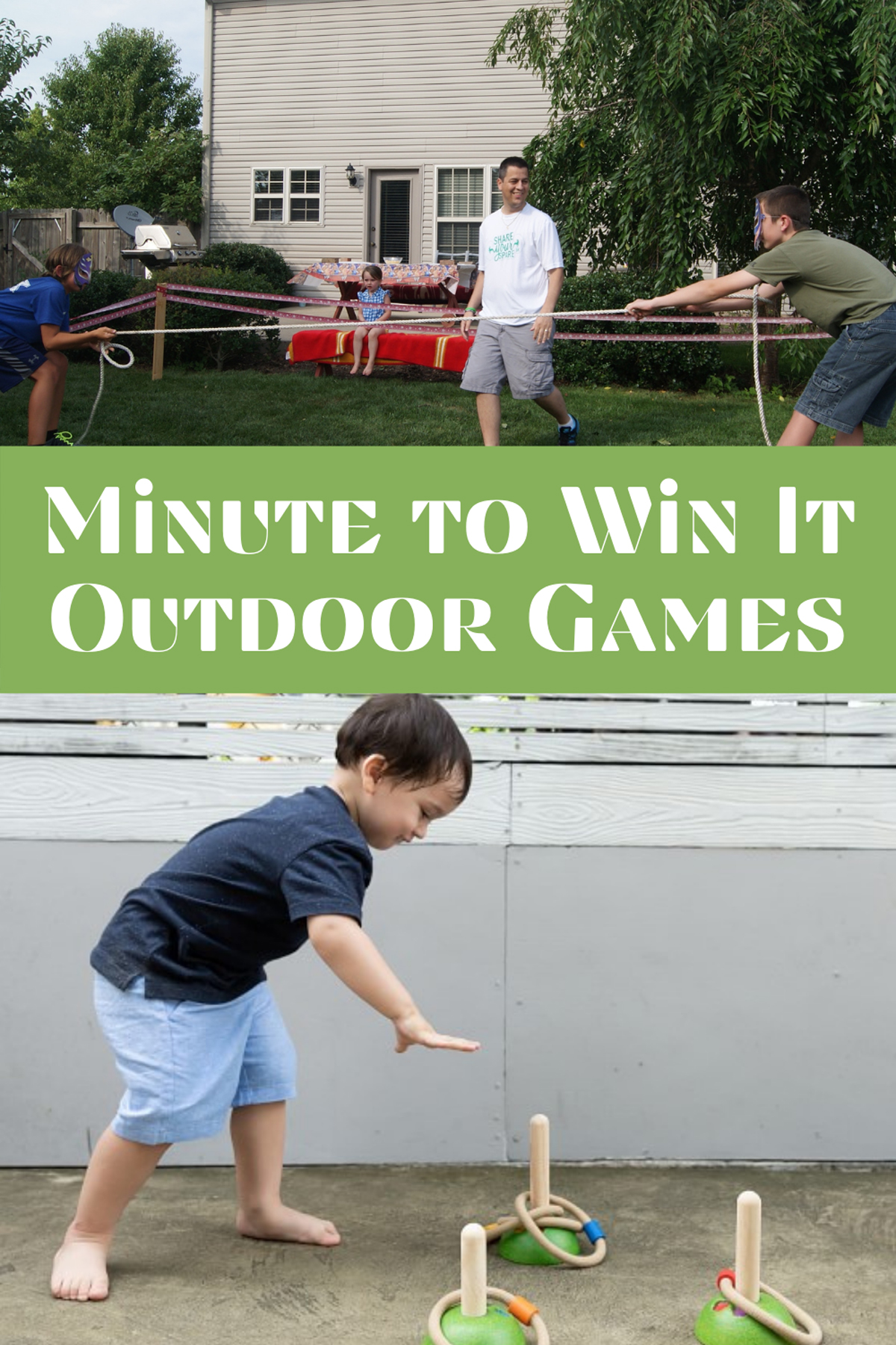 Summer Game Ideas play in a minute
