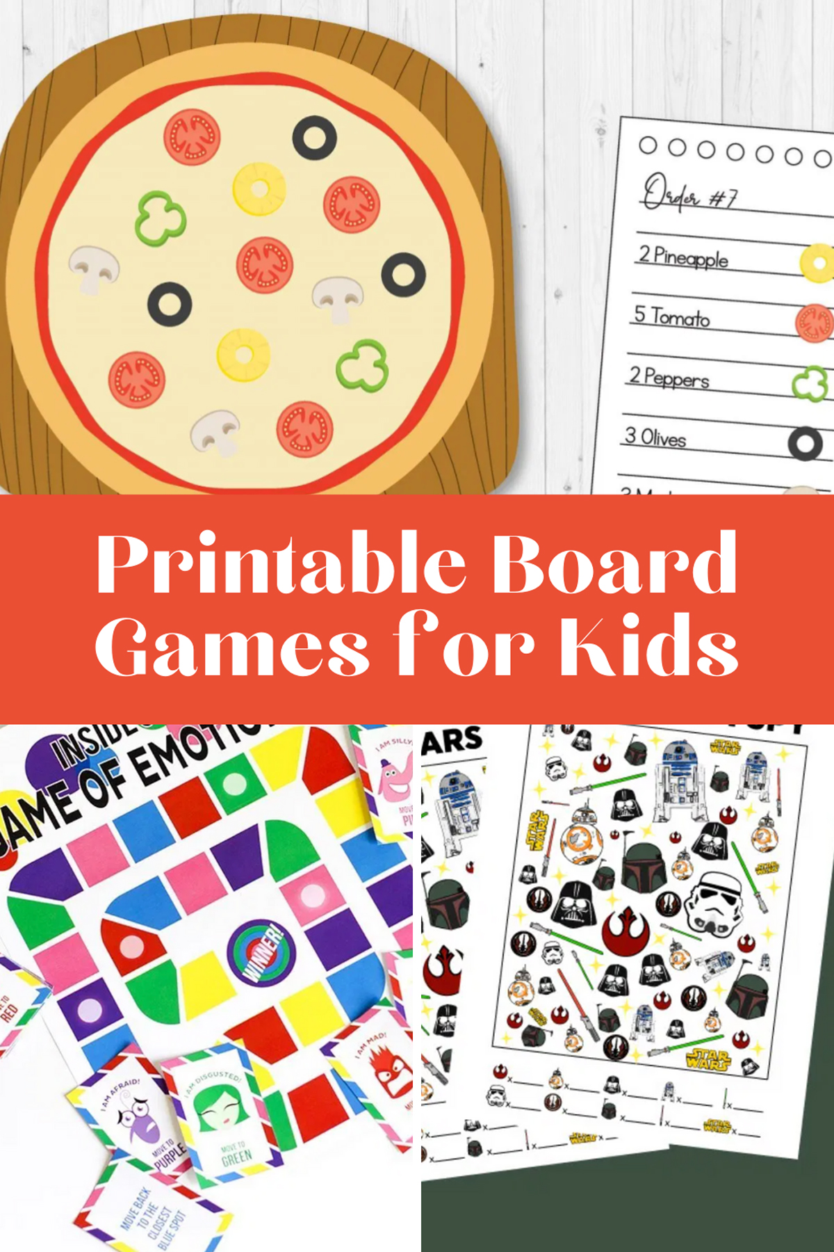 free printable board games for kids