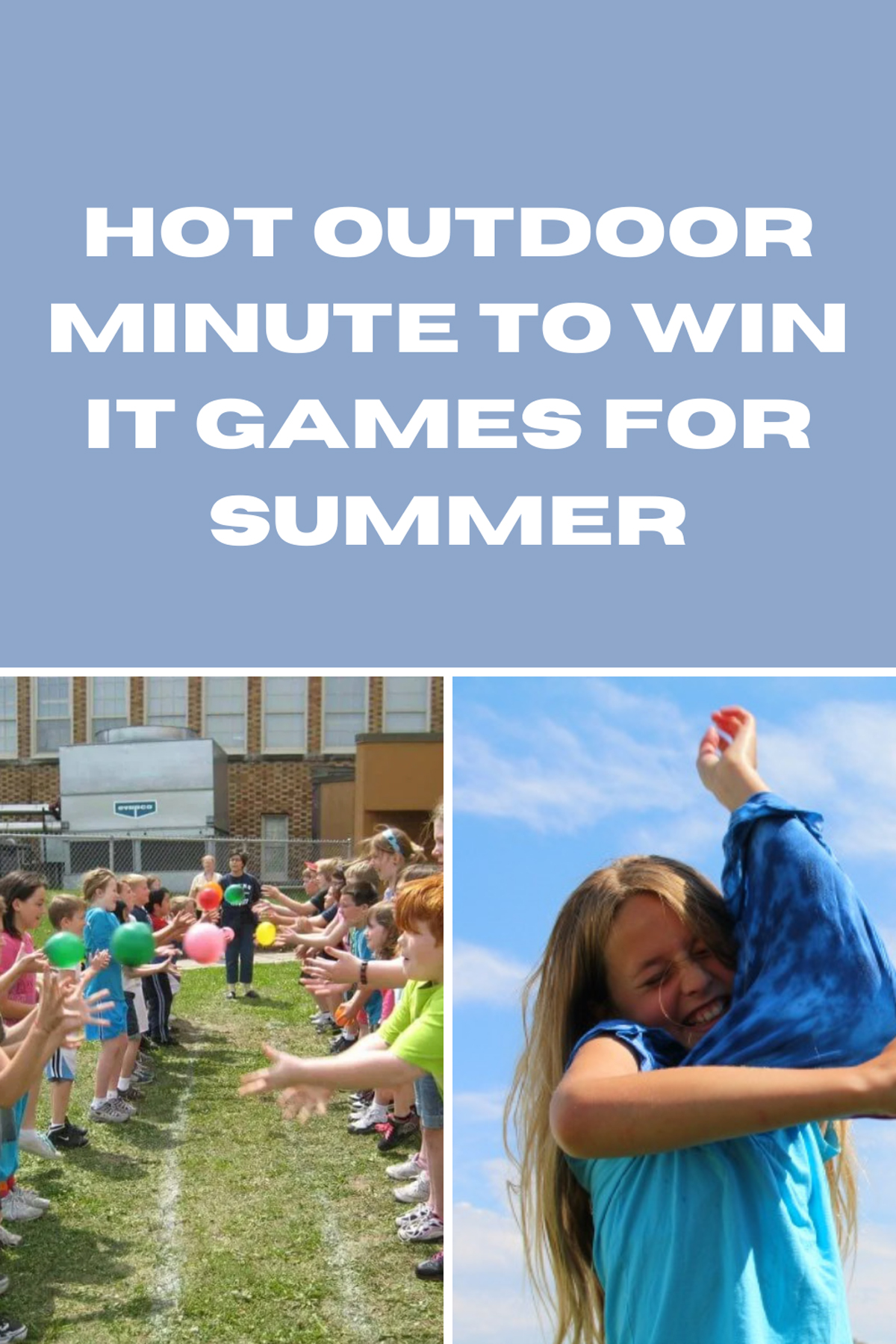 outdoor minute to win it games