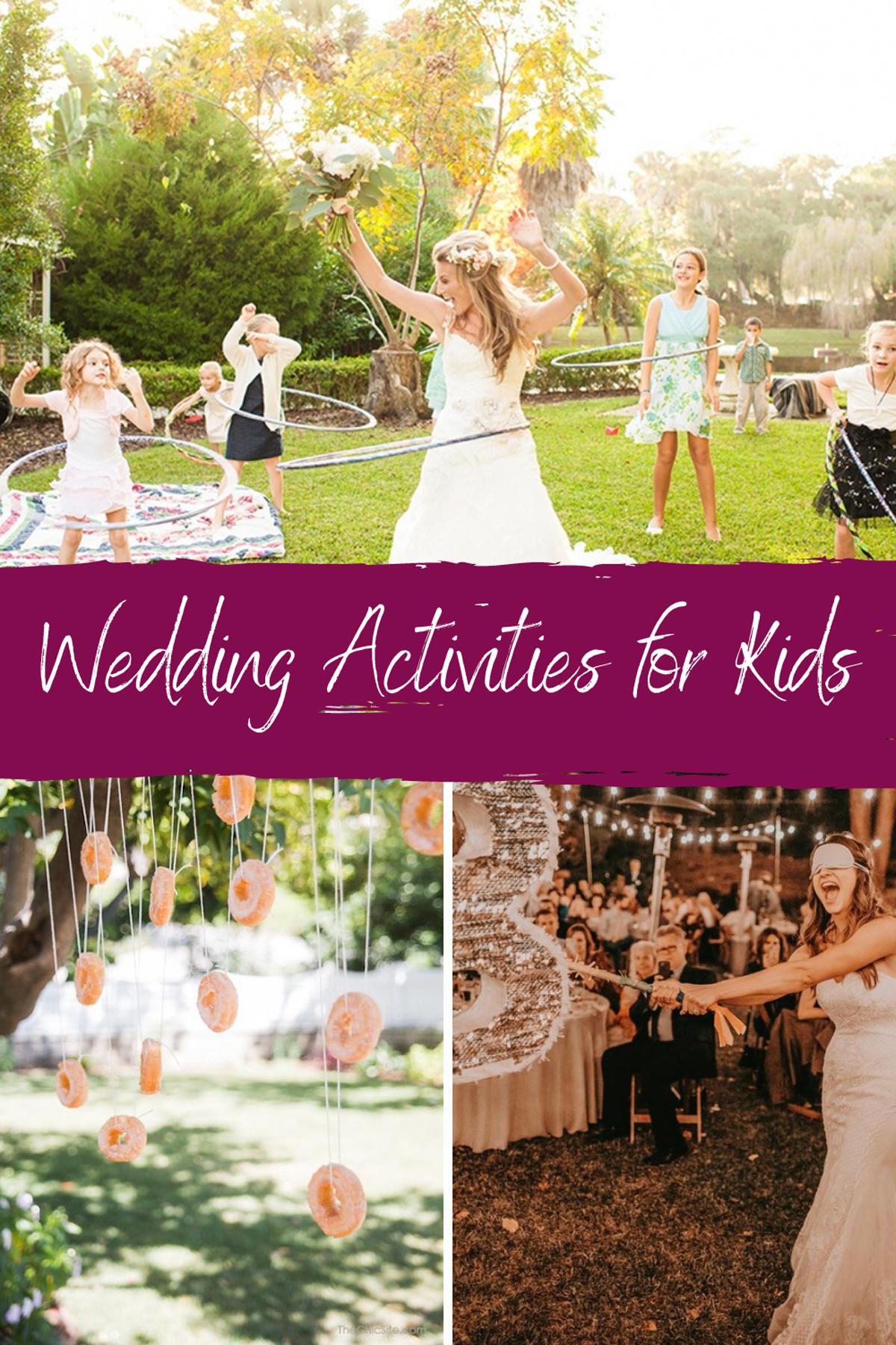 Wedding Activities for Kids